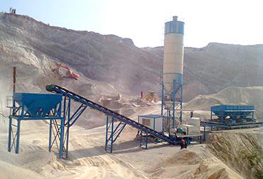 湖北十堰300T稳定土拌和站