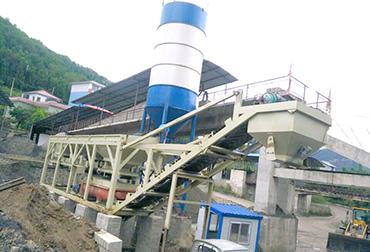 贵州400T稳定土拌和站一体机