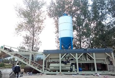 菏泽400T稳定土拌和站一体机
