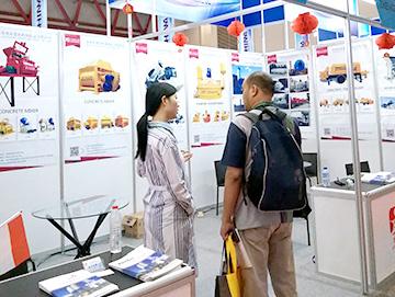 建新机械jrs直播火箭队搅拌设备在印尼展会引关注
