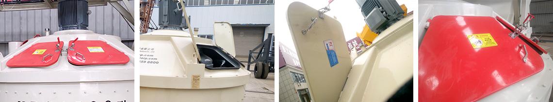 750立轴行星式搅拌机检修门观察口