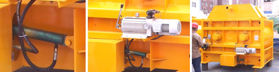 JS2000jrs直播火箭队搅拌机卸料系统