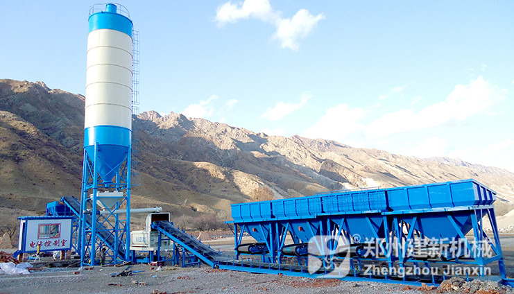 WBZ500稳定土拌和站