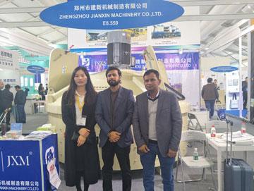 郑州建新机械积极参加2018上海宝马机械展销会