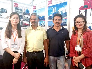 建新机械参加2019年斯里兰卡国际建材及建筑、工程机械展览会