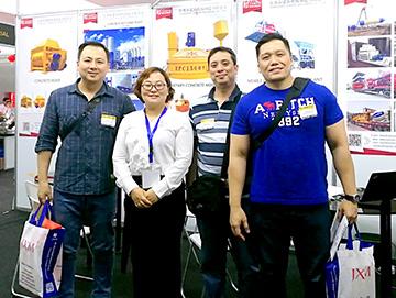 建新机械设备亮相菲律宾展会 积极拓展海外市场